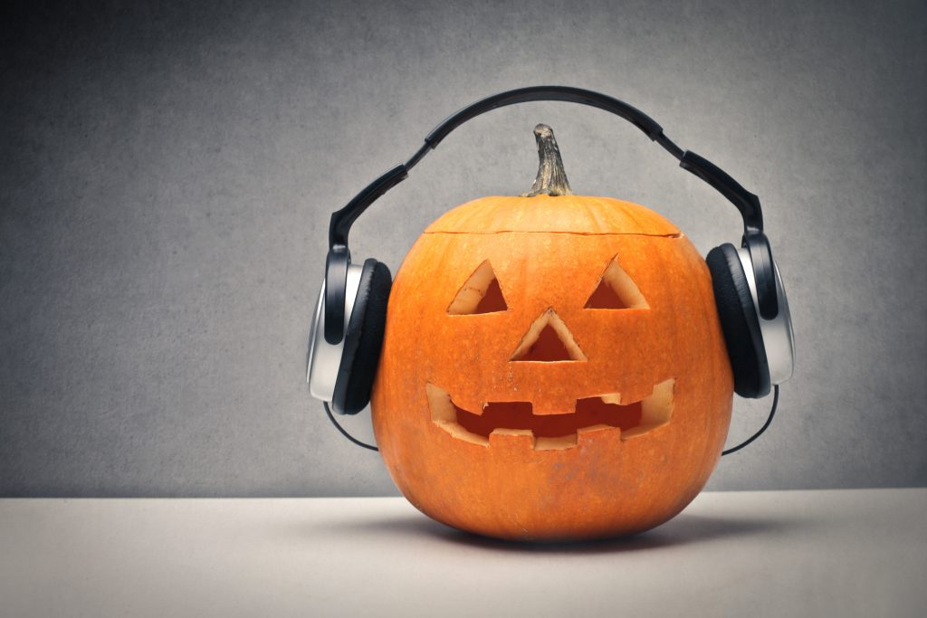 pumpkin headphones